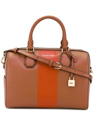 Michael Michael Kors Mercel Tote Women Calf Leather One Size Brown