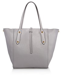 Annabel Ingall Bibi Leather Tote 100 Exclusive Shadow Gray Gold