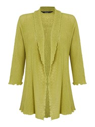 Tigi Edge To Edge Cardigan Green