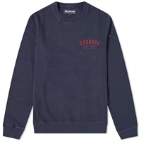 Barbour Preppy Crew Sweat Blue