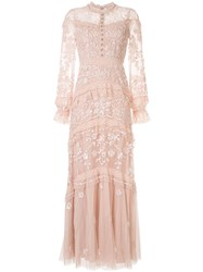 Needle And Thread Ava Lace Trimmed Tulle Dress 60