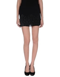 Daniele Alessandrini Mini Skirts Black