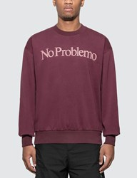 Aries No Problemo Sweatshirt Red