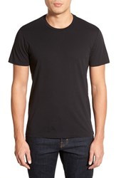 Men's Velvet By Graham And Spencer 'Howard' Crewneck T Shirt Black