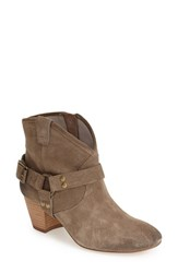 Women's Hinge 'Billy' Bootie Taupe Leather