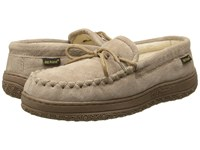 Old Friend Cloth Moccasin Chestnut W Cloth Women's Shoes Taupe