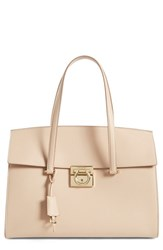Salvatore Ferragamo 'Large Mara' Leather Satchel