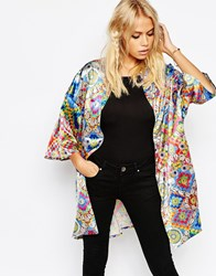 Jaded London Festival Shell Kimono Multi