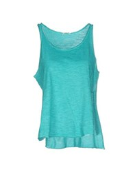 Scout Topwear Vests Women Turquoise
