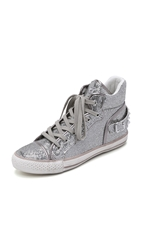Ash Vertigo Glitter High Top Sneakers