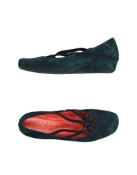 Pas De Rouge Pumps Dark Blue