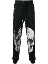 Philipp Plein Skull Track Pants Black