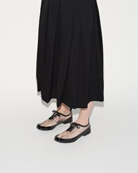 Comme Des Garcons Pvc Oxford Clear Black