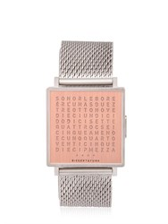 Qlocktwo Italian W Copper Watch
