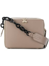 Lanvin Small Toffee Bag Nude And Neutrals