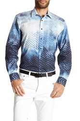 1 Like No Other Long Sleeve Woven Classic Fit Shirt Blue