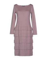 Antonio Fusco Knee Length Dresses Dove Grey