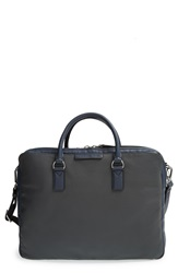 Marc By Marc Jacobs Colorblock Leather Briefcase Washed Ink