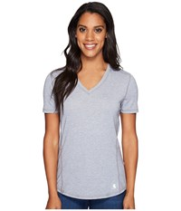 Carhartt Force Ferndale T Shirt Asphalt Heather Women's T Shirt Gray