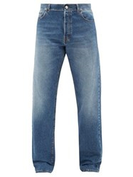 Balenciaga Flared Denim Jeans Light Blue