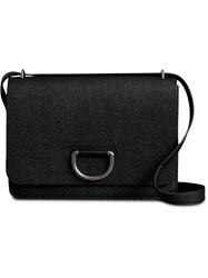 Burberry The Medium Leather D Ring Bag Black
