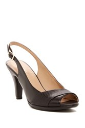 Naturalizer Indeed Slingback Pump Wide Width Available Black
