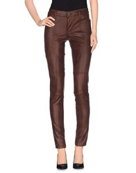 Black Orchid Trousers Casual Trousers Women Brown