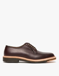 Alden Mulberry Plain Toe Blucher Mahogany