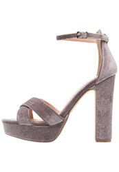 Evenandodd High Heeled Sandals Light Grey