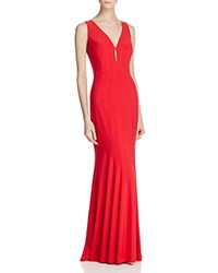 Decode 1.8 Seamed Gown Red