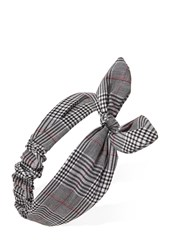 Forever 21 Plaid Bow Headwrap