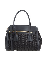 Tuscany Leather Handbags Black