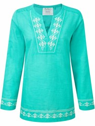 Craghoppers Clemence Long Sleeved Top Green