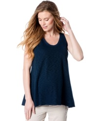 A Pea In The Pod Maternity Flared Slub Knit Tank