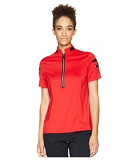 Jamie Sadock Short Sleeve Top Joy Ride Red Clothing