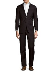 Todd Snyder Mayfair Modern Fit Checked Wool Suit Navy