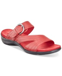 Easy Street Shoes Flicker Sandals Women's Red