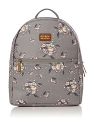 Ollie And Nic Daisy Backpack Grey
