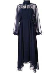 Camilla And Marc Addison Flared Dress Blue