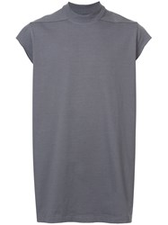Rick Owens Lupetto Tank Top Grey