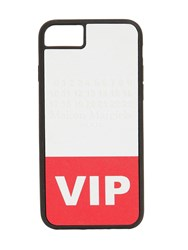 Maison Martin Margiela Vip Iphone 8 Cover White Red