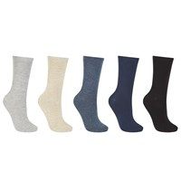 John Lewis Cotton Blend Fashion Ankle Socks Pack Of 5 Multi