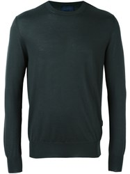 Lanvin Crew Neck Jumper Green