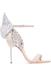 Sophia Webster Evangeline Leather Sandals Pastel Pink
