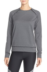 Women's Under Armour 'Cozy' Coldgear Crewneck Sweatshirt Black