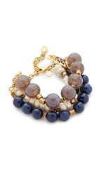 David Aubrey Paige Bracelet Gold Multi