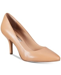 Inc International Concepts Womens Zitah Pointed Toe Pumps Only At Macy's Women's Shoes Sable