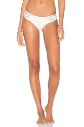 Clube Bossa Launder Side Tie Bikini Bottom Cream