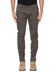 One Seven Two Casual Pants Dark Brown