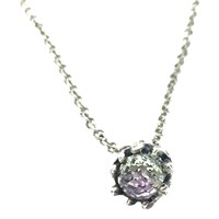 Sweet1985 Magic Crystal Ball Choker Purple